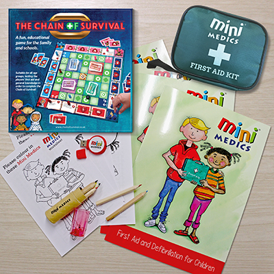 Mini Medics Trainer Pack<br />with Pencil Sets MMTPPS