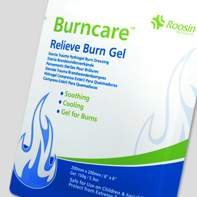 Burncare Relieve Burn Gel - 20cm x 20cm (1) BUR003