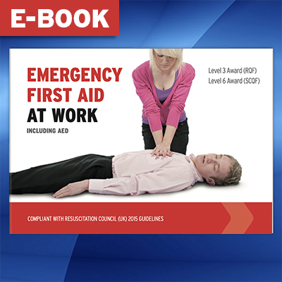 Emergency First Aid at Work Book (Electronic Version) L3EFABOOK-EBOOK