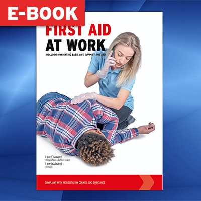 First Aid at Work Book - A4 (Electronic Version) IUFAWBOOK-EBOOK