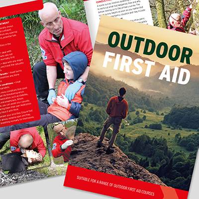 OUTDOOR FIRST AID BOOK L3OFABOOK