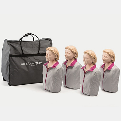 Little Anne QCPR Four Pack LAQCPR4PK