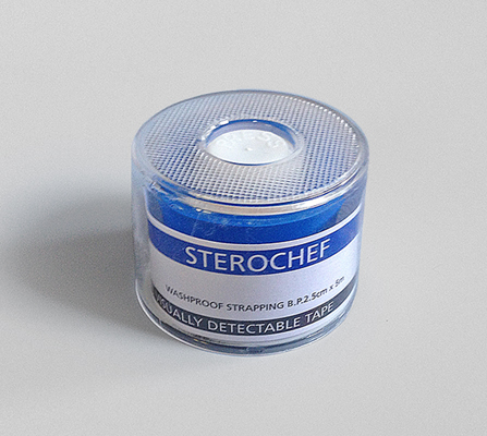 Cohesive Gauze Tape - 2.5cm x 5m - Blue CGT255