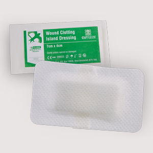 Cut-Eeze Haemostatic Dressing 7cm x 4cm - Box of 20 HD74X20