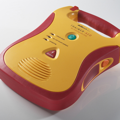 Lifeline Stand Alone Trainer AED Package DCF-E350T