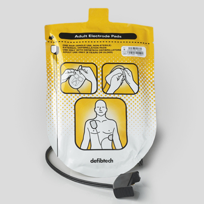 Lifeline AED Adult Defibrillation Pad Package DDP-100