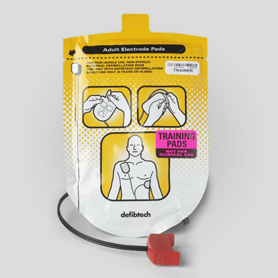 Lifeline AED Adult Training Pad Package DDP-101TR