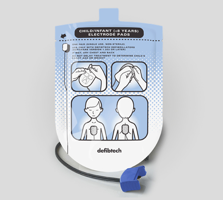 Lifeline AED Paediatric Defibrillation Pad Package DDP-200P