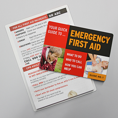 Emergency First Aid Guide No. 1 EFAG1