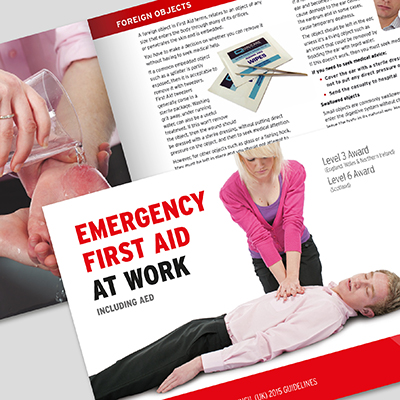 L3/L6 Emergency First Aid at Work L3EFABOOK