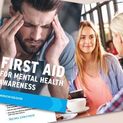 First Aid for Mental Health Awareness Book FA4MHAB1