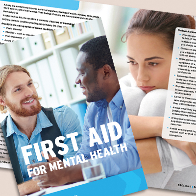 First Aid for Mental Health Book FA4MHB23