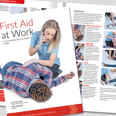 First Aid at Work Book-A4 IUFAWBOOK