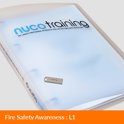 L1/L4 Fire Safety Awareness Tutor Pack with USB FAAFSATPUSB