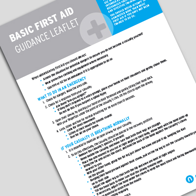 Guidance Notes - for First Aid Kit GN001