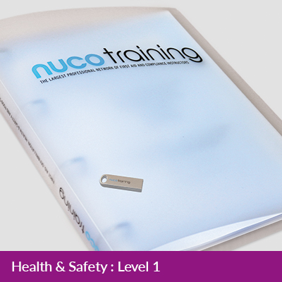 L1/L4 Health & Safety Tutor Pack with USB FAAHSL1TPUSB