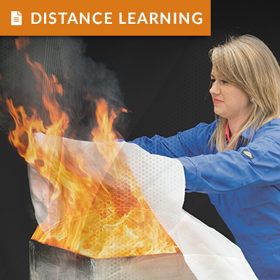 Fire Safety<br />Distance Learning Package FIREDLP