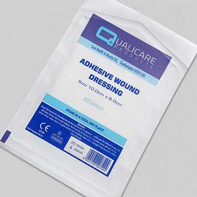 Adhesive Wound Dressing - 10cm x 8cm (25) LAAD108025