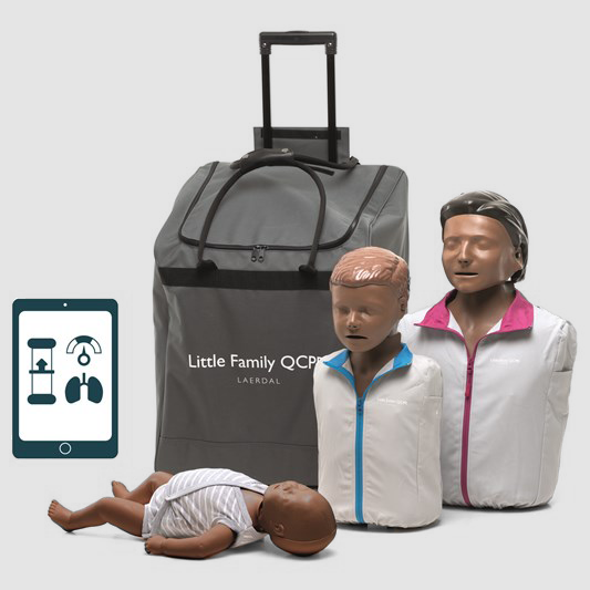 Little Family Pack QCPR - Dark Skin LFPQCPRDS