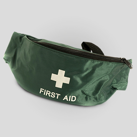First Aid Green Canvas Bumbag BBS