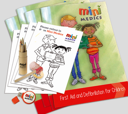 Mini Medics Trainer Pack with Pencil Sets MMTPPS