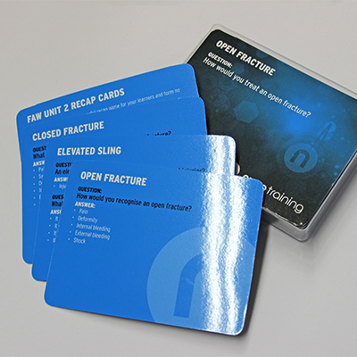 First Aid Recap Card Set 2 RECAPCARDS2
