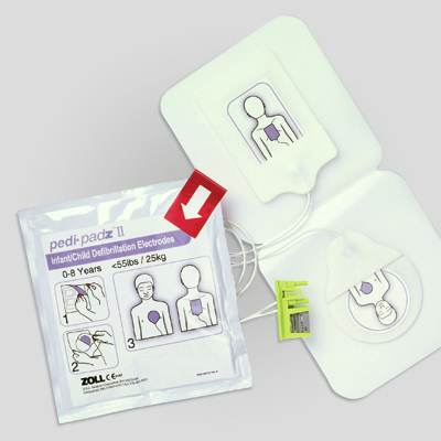 ZOLL AED Plus Pedi-padz<br />Paediatric Electrodes ZCPRP