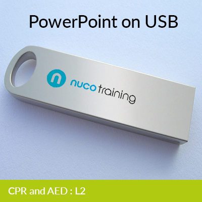 L2/L5 CPR & AED PowerPoint USB CPRAEDUSB