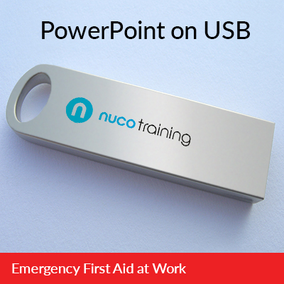 PowerPoint presentations on USB