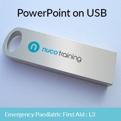L3/L6 Emergency Paediatric First Aid PowerPoint USB EPFAUSB
