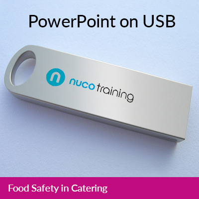 L2/L5 Food Safety in Catering PowerPoint USB FSICUSB