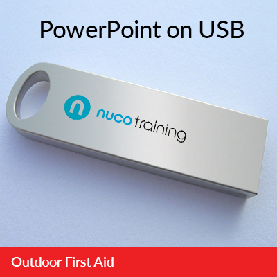 L3 Outdoor First Aid PowerPoint USB OFAUSB