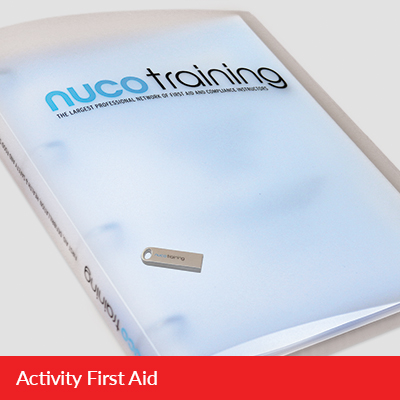 L3/L6 Activity First Aid Tutor Pack with USB FAAAFATPUSB
