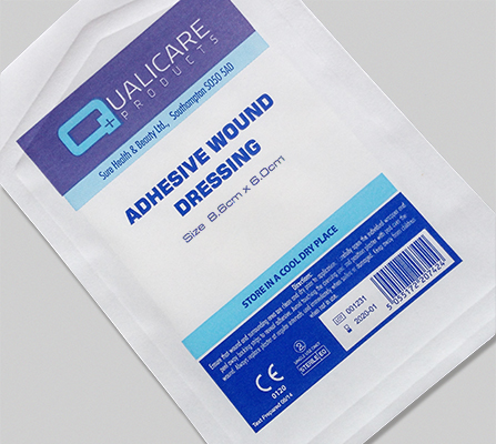 Adhesive Wound Dressing - 8cm x 6cm (25) LAAD608625