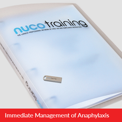 L3 Immediate Management of Anaphylaxis Tutor Pack with USB L3AATPUSB