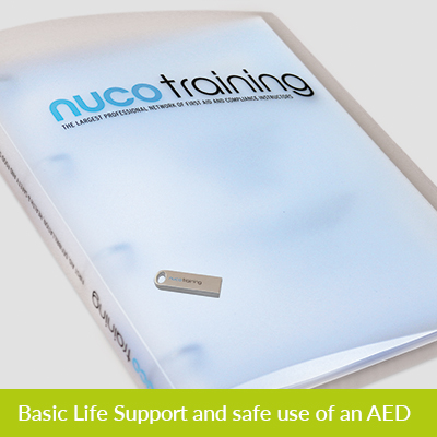 L2 BLS and safe use of an AED Tutor Pack with USB L2BLSAEDTPUSB