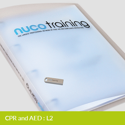 L2/L5 CPR & AED Tutor Pack with USB FAADEFIBTPUSB
