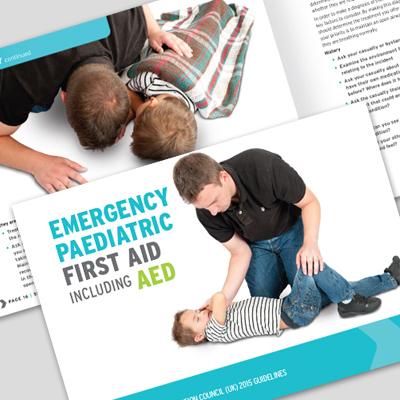Emergency Paediatric First Aid Book L3EPFABOOK