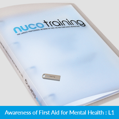 L1/L4 First Aid for Mental Health Awareness Tutor Pack with USB FAMHATPUSB