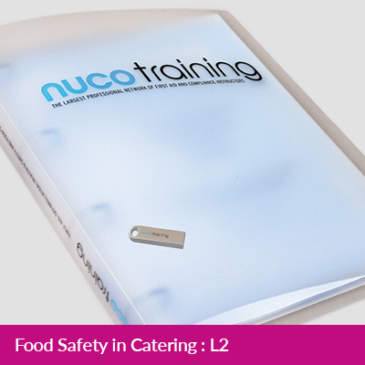 L2/L5 Food Safety in Catering Tutor Pack with USB FAAFSICTPUSB