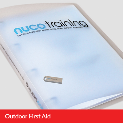 L3 Outdoor First Aid Tutor Pack with USB L3OFATPUSB