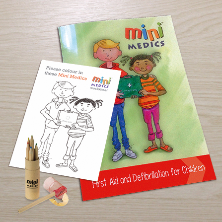Mini Medics Student Pack with Pencil Set MMSPPS