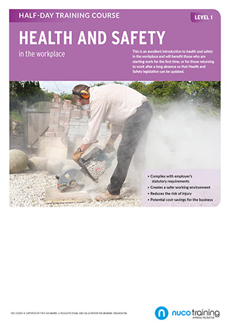 Nuco L1 Health and Safety poster